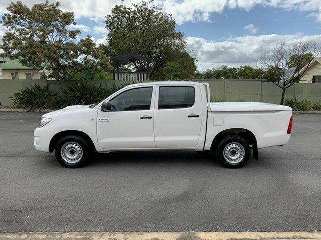 Used Toyota Hilux KUN16R SR, 2009 Toyota Hilux KUN16R SR White 5 Speed Manual Dual Cab