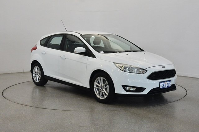 Used Ford Focus LZ Trend, 2017 Ford Focus LZ Trend Frozen White 6 Speed Automatic Hatchback