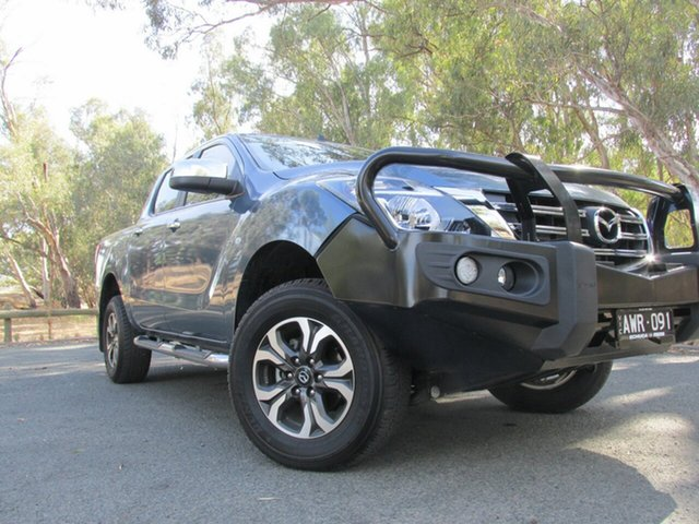 Demo Mazda BT-50  , 2018 Mazda BT-50 XTR Blue 6 Speed Automatic Dual Cab