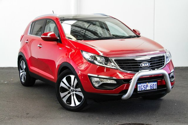 Used Kia Sportage SL MY13 Platinum (AWD), 2013 Kia Sportage SL MY13 Platinum (AWD) Red 6 Speed Automatic Wagon