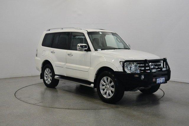 Used Mitsubishi Pajero NT MY10 Exceed, 2010 Mitsubishi Pajero NT MY10 Exceed White 5 Speed Sports Automatic Wagon