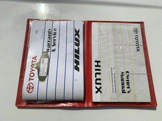2009 Toyota Hilux KUN16R SR White 5 Speed Manual Dual Cab