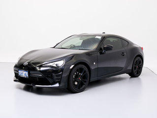 2016 Toyota 86 ZN6 MY15 GT Black 6 Speed Manual Coupe.