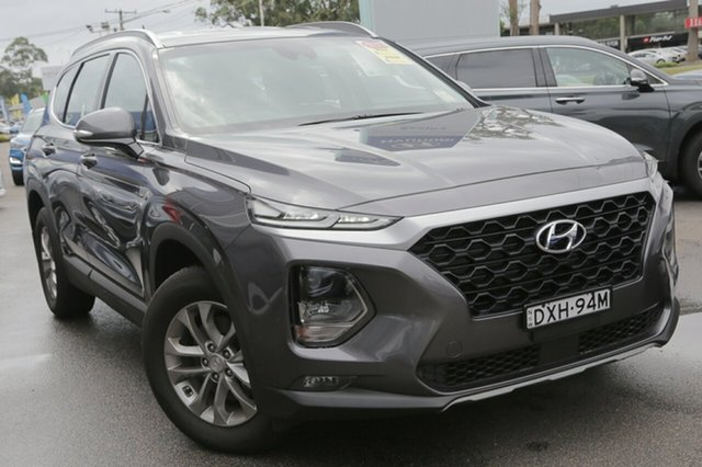 Demo Hyundai Santa Fe TM MY19 Active, 2018 Hyundai Santa Fe TM MY19 Active Magnetic Force 8 Speed Sports Automatic Wagon