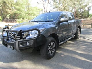 2018 Mazda BT-50 XTR Blue 6 Speed Automatic Dual Cab