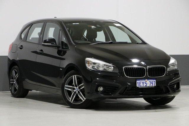 Used BMW 218i F45 Active Tourer Sport Line, 2016 BMW 218i F45 Active Tourer Sport Line Black 6 Speed Automatic Wagon