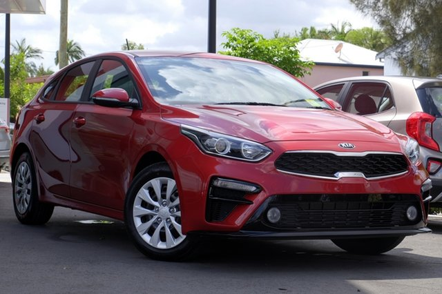New Kia Cerato BD MY20 S, 2019 Kia Cerato BD MY20 S Runway Red 6 Speed Sports Automatic Hatchback