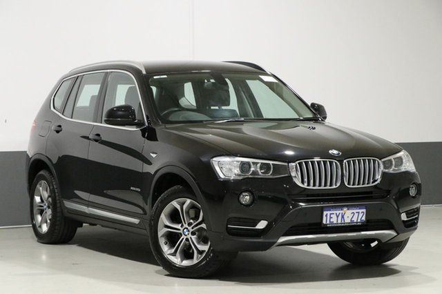 Used BMW X3 F25 MY16 xDrive 20I, 2016 BMW X3 F25 MY16 xDrive 20I Black 8 Speed Automatic Wagon