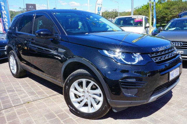 Used Land Rover Discovery Sport L550 17MY TD4 150 SE, 2017 Land Rover Discovery Sport L550 17MY TD4 150 SE Black 9 Speed Sports Automatic Wagon