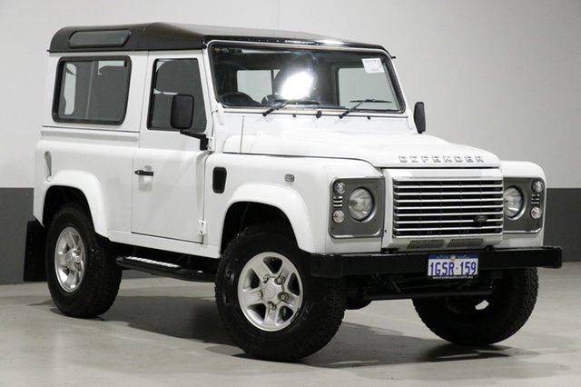 Used Land Rover Defender MY14 90, 2014 Land Rover Defender MY14 90 White 6 Speed Manual Wagon