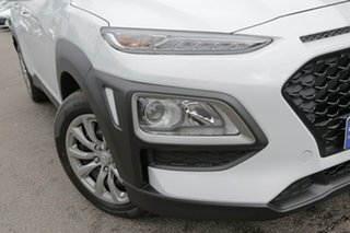 2018 Hyundai Kona OS.2 MY19 Go 2WD Chalk White 6 Speed Sports Automatic Wagon.
