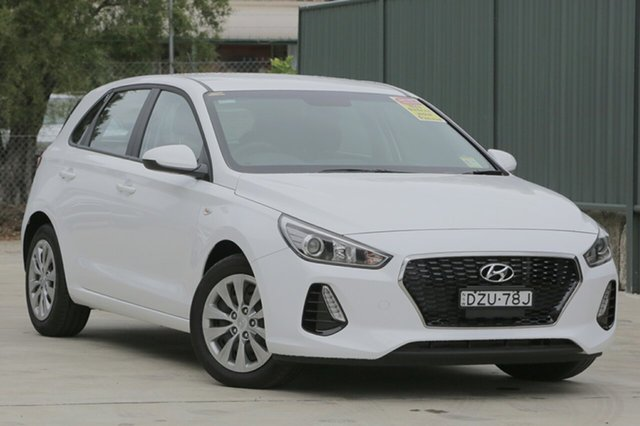 Demo Hyundai i30  Go, 2018 Hyundai i30 Go Polar White 7 Speed Automatic Hatchback