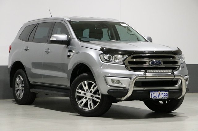 Used Ford Everest UA MY17 Trend, 2016 Ford Everest UA MY17 Trend Silver 6 Speed Automatic Wagon