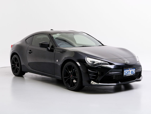 Used Toyota 86 ZN6 MY15 GT, 2016 Toyota 86 ZN6 MY15 GT Black 6 Speed Manual Coupe