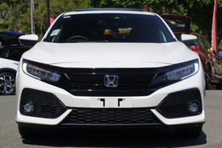 2018 Honda Civic 10th Gen MY18 VTi-LX White Orchid 1 Speed Constant Variable Hatchback