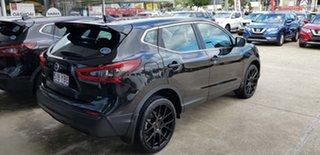 2017 Nissan Qashqai J11 Series 2 ST X-tronic Pearl Black 1 Speed Constant Variable Wagon.