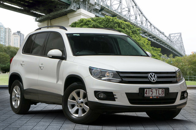 Used Volkswagen Tiguan 5N MY13.5 132TSI DSG 4MOTION Pacific, 2013 Volkswagen Tiguan 5N MY13.5 132TSI DSG 4MOTION Pacific White 7 Speed