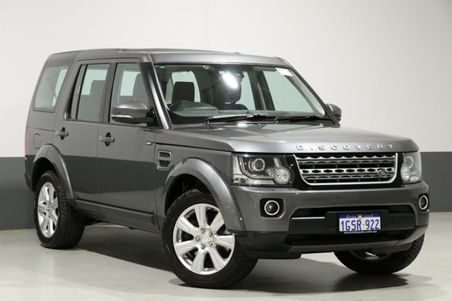 Used Land Rover Discovery MY15 3.0 SDV6 SE, 2015 Land Rover Discovery MY15 3.0 SDV6 SE Grey 8 Speed Automatic Wagon
