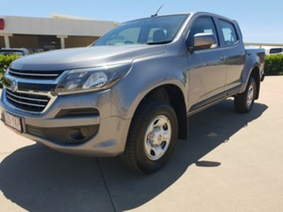2018 Holden Colorado RG MY18 LS Pickup Crew Cab Satin Steel Grey 6 Speed Sports Automatic Utility