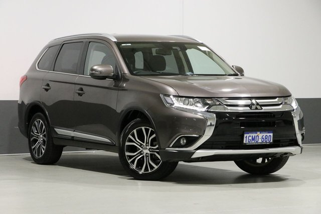 Used Mitsubishi Outlander ZL MY18.5 LS 7 Seat (AWD), 2018 Mitsubishi Outlander ZL MY18.5 LS 7 Seat (AWD) Ironbark Continuous Variable Wagon