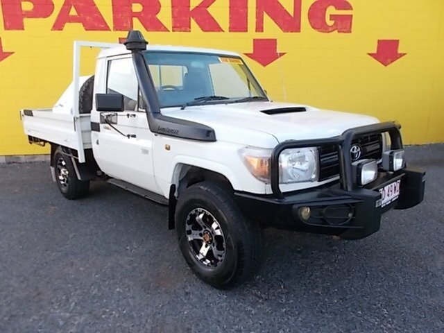 Used Toyota Landcruiser VDJ79R Workmate, 2007 Toyota Landcruiser VDJ79R Workmate White 5 Speed Manual Cab Chassis