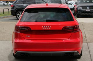 2013 Audi S3 8V MY14 Sportback S Tronic Quattro Red 6 Speed Sports Automatic Dual Clutch Hatchback