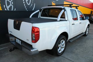2012 Nissan Navara D40 S6 MY12 ST Arctic White 6 Speed Manual Utility.