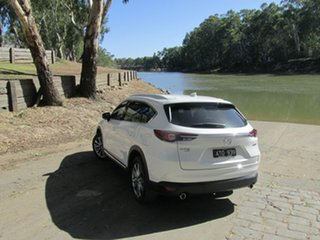 2018 Mazda CX-8 ASAKI White 6 Speed Automatic Wagon