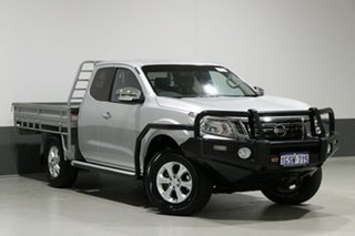 2015 Nissan Navara NP300 D23 ST (4x4) Silver 6 Speed Manual King Cab Utility.
