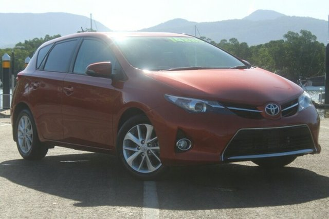 Used Toyota Corolla ZRE182R Ascent Sport S-CVT, 2014 Toyota Corolla ZRE182R Ascent Sport S-CVT Orange 7 Speed Constant Variable Hatchback