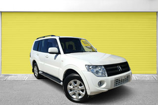 2012 Mitsubishi Pajero NW MY12 GLX White 5 Speed Sports Automatic Wagon.