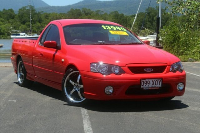 Used Ford Falcon BF Mk II XR8 Ute Super Cab, 2007 Ford Falcon BF Mk II XR8 Ute Super Cab Red 6 Speed Manual Utility