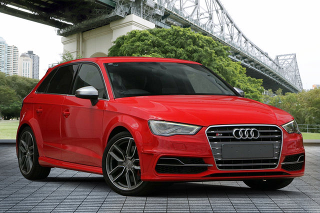 Used Audi S3 8V MY14 Sportback S Tronic Quattro, 2013 Audi S3 8V MY14 Sportback S Tronic Quattro Red 6 Speed Sports Automatic Dual Clutch Hatchback