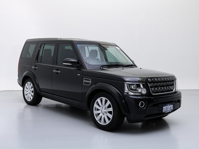 Used Land Rover Discovery MY16 3.0 TDV6, 2016 Land Rover Discovery MY16 3.0 TDV6 Black 8 Speed Automatic Wagon