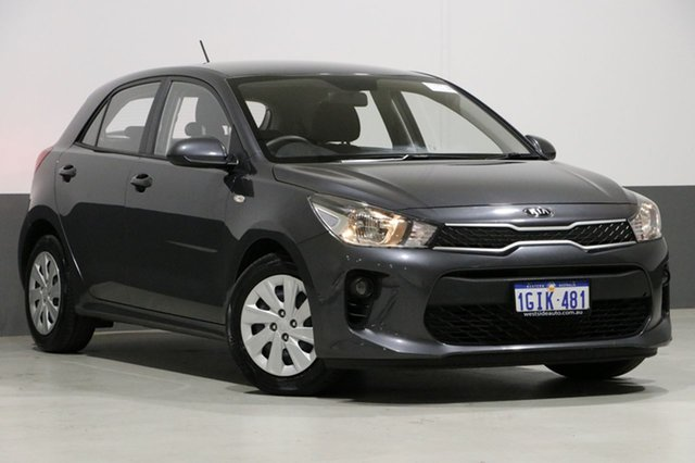 Used Kia Rio YB MY18 S, 2017 Kia Rio YB MY18 S Grey 4 Speed Automatic Hatchback