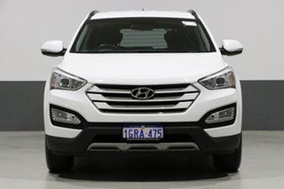 2015 Hyundai Santa Fe DM Series II (DM3) Active CRDi (4x4) White 6 Speed Automatic Wagon.