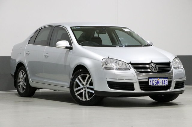 Used Volkswagen Jetta 1KM MY08 Upgrade 2.0 TDI, 2007 Volkswagen Jetta 1KM MY08 Upgrade 2.0 TDI Silver 6 Speed Manual Sedan