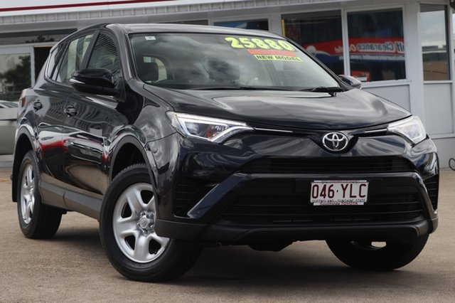 Used Toyota RAV4 ASA44R GX AWD, 2017 Toyota RAV4 ASA44R GX AWD Ink 6 Speed Sports Automatic Wagon