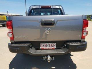 2018 Holden Colorado RG MY18 LS Pickup Crew Cab Satin Steel Grey 6 Speed Sports Automatic Utility