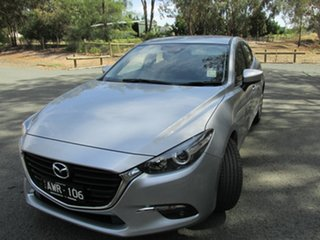 2018 Mazda 3 SP25 Silver 6 Speed Automatic Hatchback