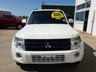 2012 Mitsubishi Pajero NW MY12 GLX White 5 Speed Sports Automatic Wagon