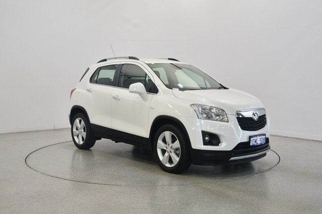 Used Holden Trax TJ MY15 LTZ, 2014 Holden Trax TJ MY15 LTZ White 6 Speed Automatic Wagon