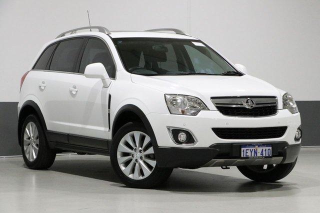 Used Holden Captiva CG MY15 5 LT (FWD), 2015 Holden Captiva CG MY15 5 LT (FWD) White 6 Speed Automatic Wagon