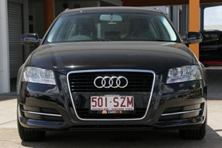 2012 Audi A3 8P MY12 Attraction Sportback S Tronic Black 7 Speed Sports Automatic Dual Clutch
