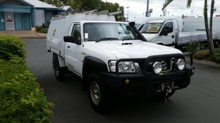 2013 Nissan Patrol MY11 Upgrade DX (4x4) 5 Speed Manual Leaf Cab Chassis.
