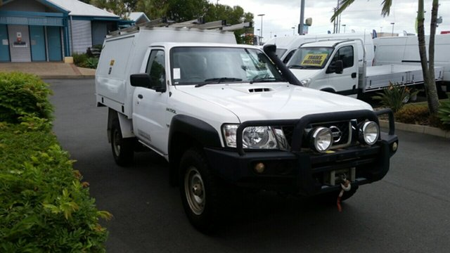 Used Nissan Patrol MY11 Upgrade DX (4x4), 2013 Nissan Patrol MY11 Upgrade DX (4x4) 5 Speed Manual Leaf Cab Chassis