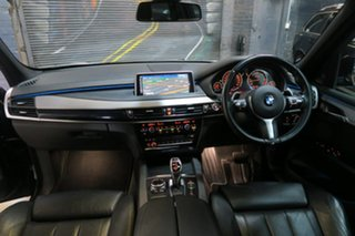 2014 BMW X5 F15 xDrive40d Black 8 Speed Sports Automatic Wagon.