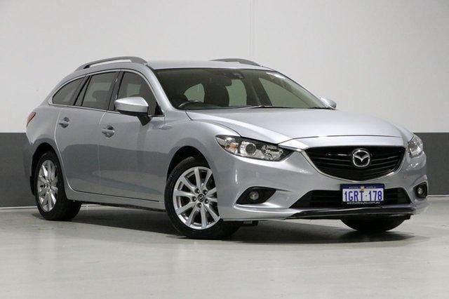 Used Mazda 6 6C MY15 Sport, 2015 Mazda 6 6C MY15 Sport Silver 6 Speed Automatic Wagon
