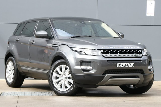 Used Land Rover Range Rover Evoque L538 MY15 TD4 Pure Tech, 2015 Land Rover Range Rover Evoque L538 MY15 TD4 Pure Tech Grey 9 Speed Sports Automatic Wagon