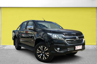 2017 Holden Colorado RG MY18 LTZ Pickup Crew Cab Black 6 Speed Sports Automatic Utility.